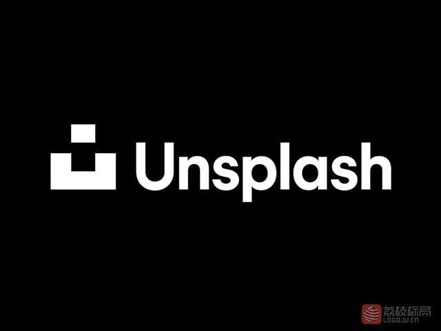 图片社区Unsplash新标志logo