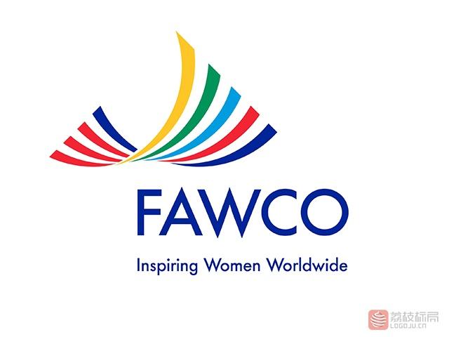 fawco女性组织标志logo