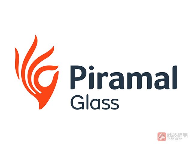 piramalGlass玻璃公司标志logo
