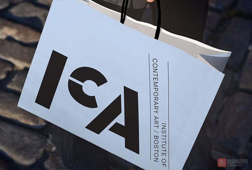 波士顿当代美术馆(ICA)新标志LOGO
