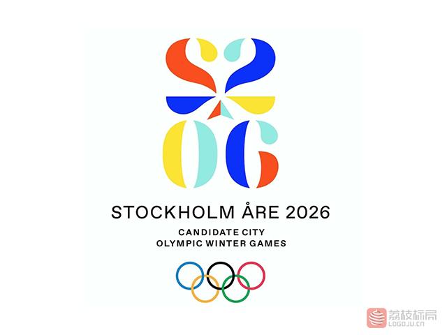 斯德哥尔摩申办2026奥运新标志logo