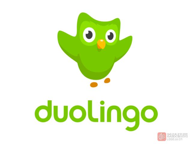 线上免费语言学习平台多邻国duolingo标志logo