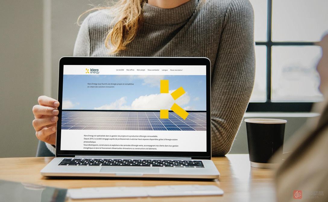 太阳能能源公司klara energy新标志logo