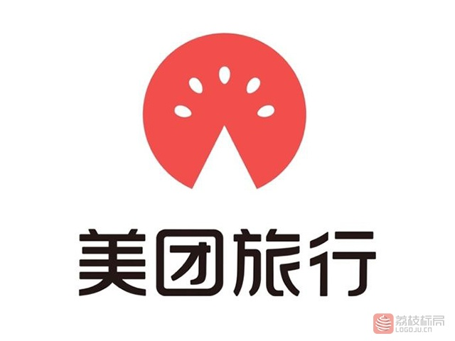 美团旅行标志logo