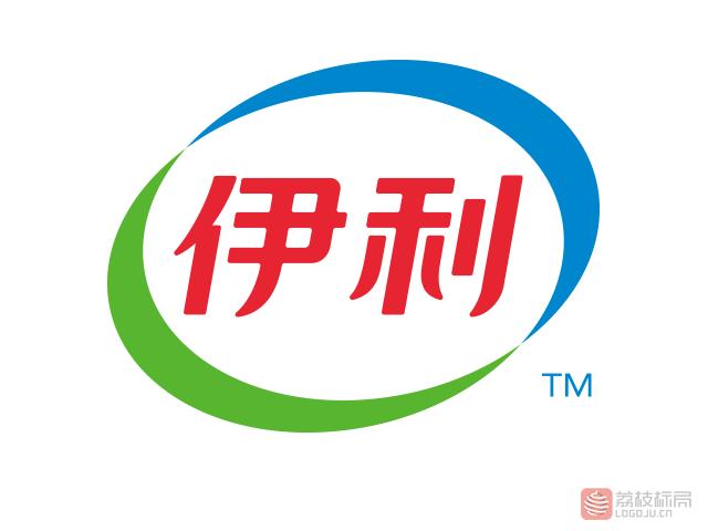伊利牛奶饮料品牌新标志logo