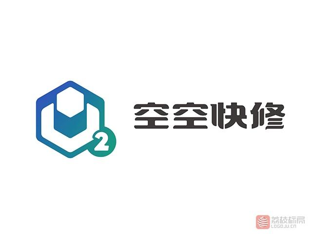 空空快修专业维修平台标志logo