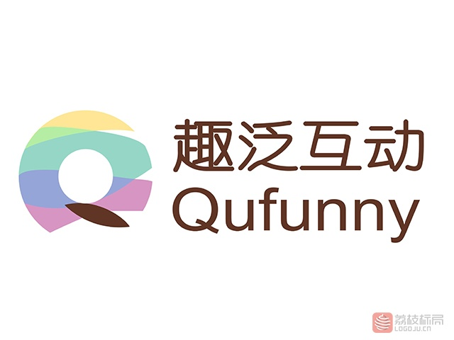 趣泛互动广告服务商标志logo