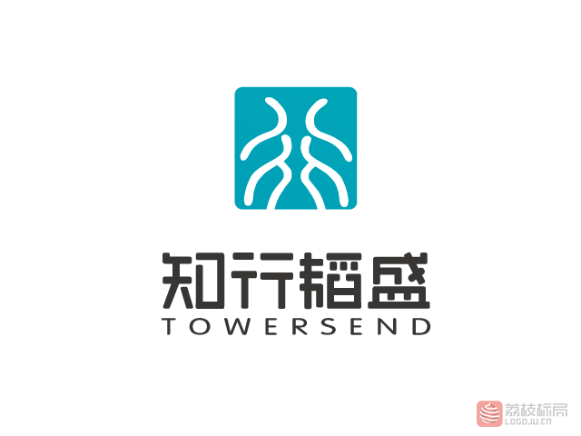 知行韬盛towersend教育咨询机构标志logo