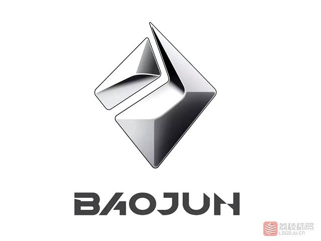 宝骏汽车新车标标志logo