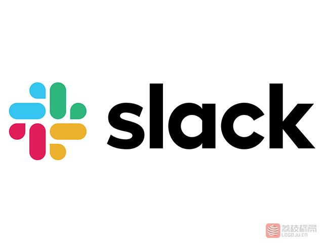 """智能移动办公软件""""Slack""""新标志logo"""