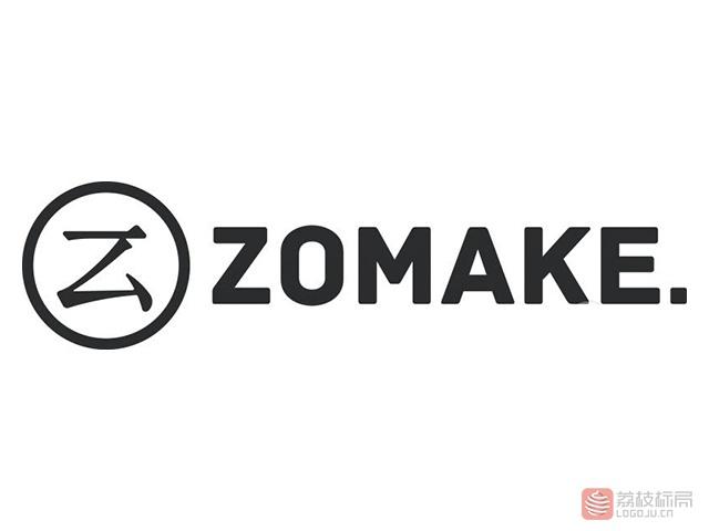 定制化线上商城ZOMAKE标志logo