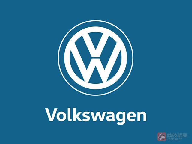 大众汽车品牌全新标志logo