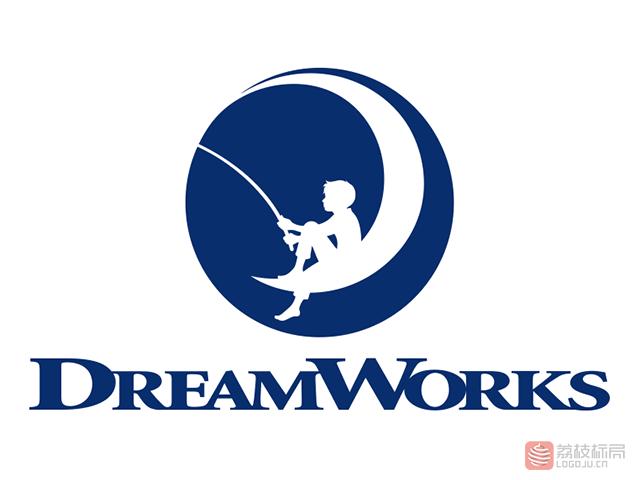 梦工厂动画公司DreamWorks新标志logo