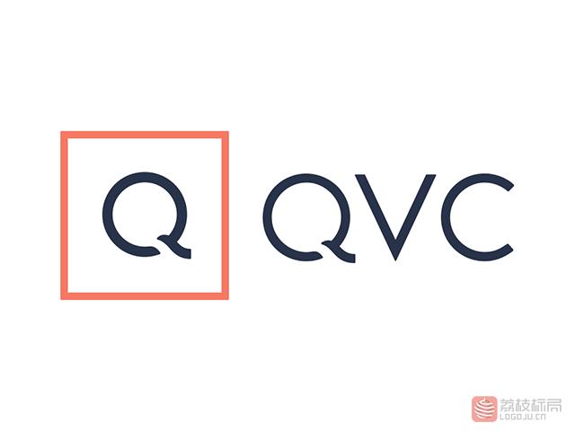 美国最大的电视购物公司QVC新标志logo