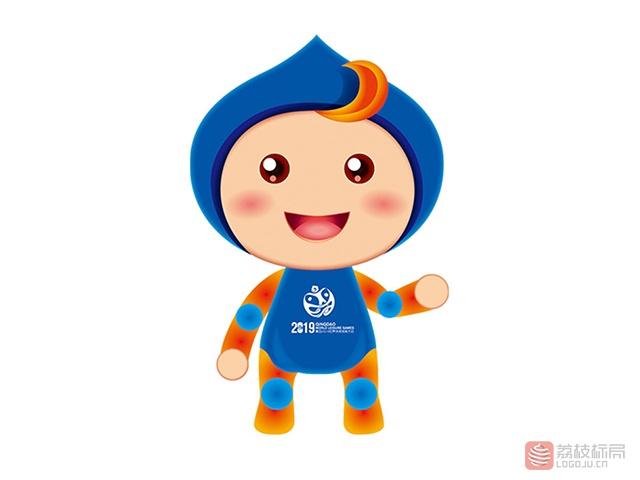 2019世界休闲体育大会卡通吉祥物