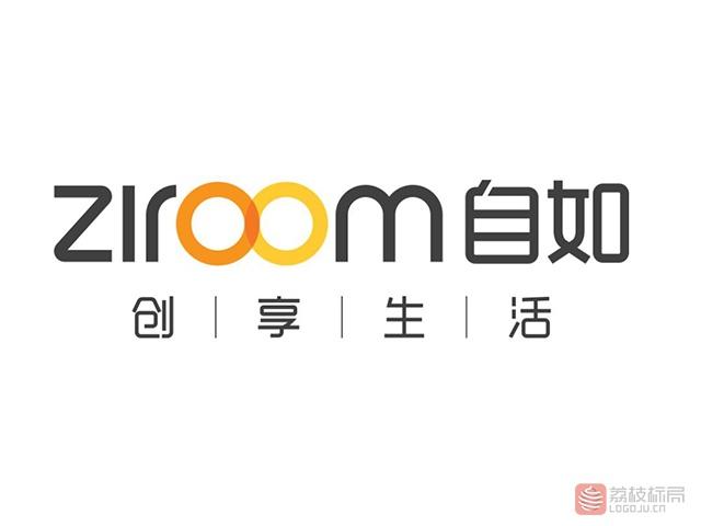 互联网O2O品牌ziroom自如标志logo