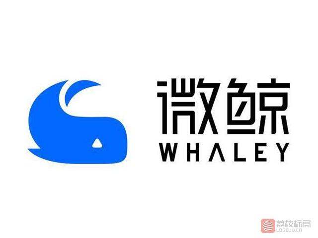 whaley微鲸电视品牌标志logo