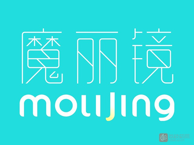 魔丽镜molijing标志logo