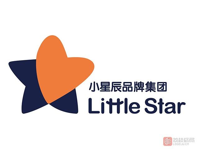 中国高端母婴品牌littlestar小星辰品牌集团标志logo