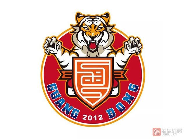 中甲广东华南虎俱乐部新队徽标志logo
