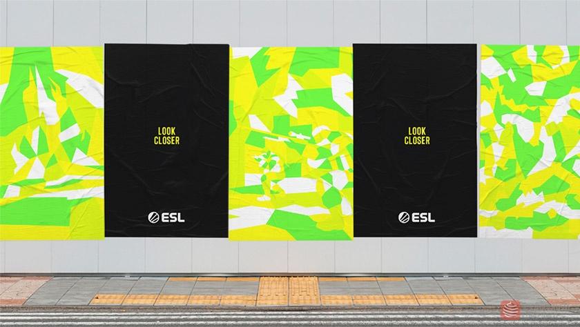 欧洲电子竞技联盟ESL新标志logo