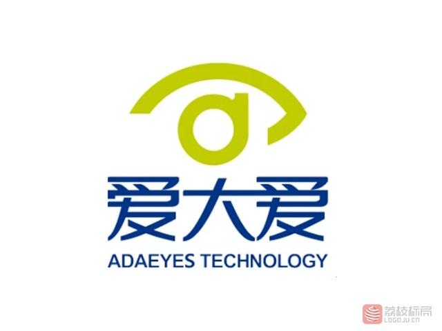爱大爱科技标志logo