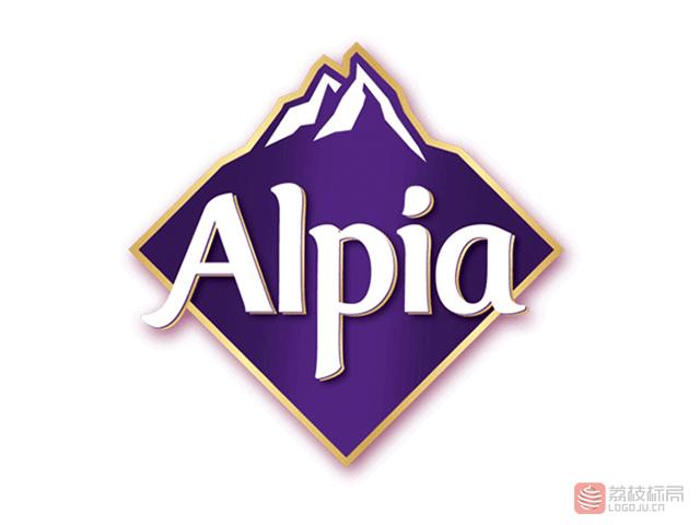 德国巧克力品牌 Alpia欧派新标志logo
