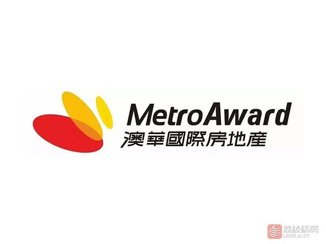 澳华国际房地产MetroAward公司标志logo
