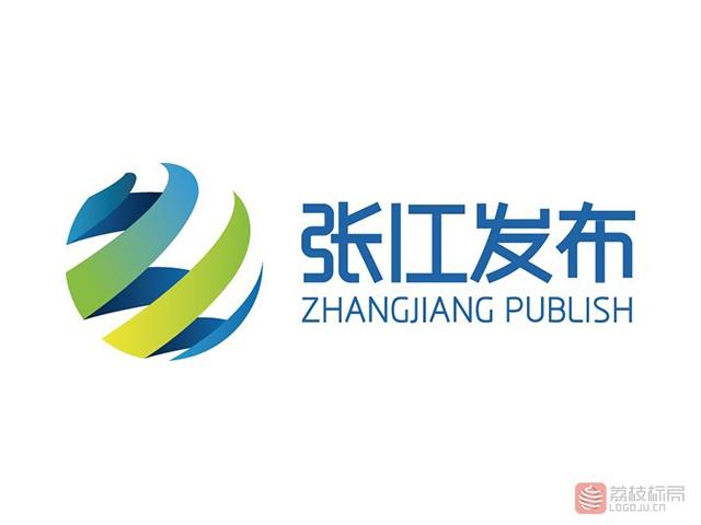 张江发布标志logo