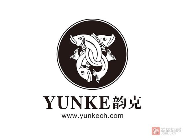 韵克YUNKE女鞋品牌标志logo