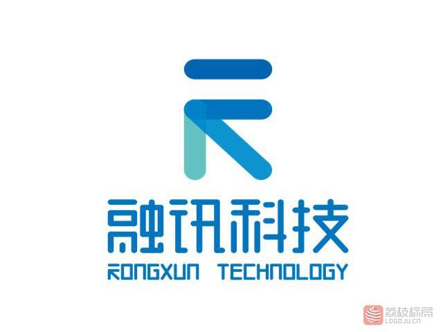 融讯科技互联网技术服务提供商标志logo