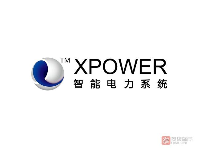 XPOWER智能电力系统标志logo
