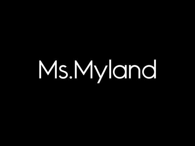 高端女袜品牌MS.MYLAND米兰妮新标志logo