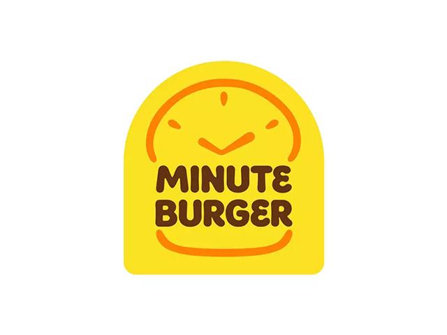 菲律宾快餐汉堡连锁餐厅Minute Burger新标志logo