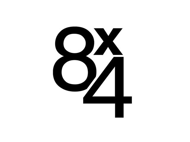 德国身体护理品牌8X4新标志logo