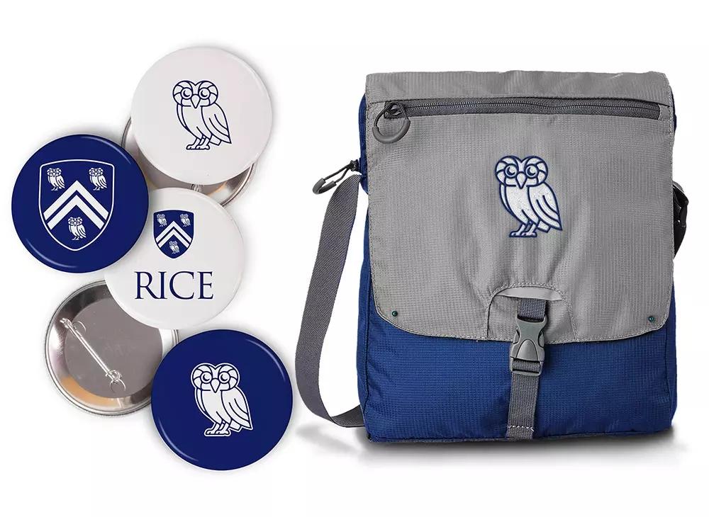 莱斯大学Rice University新校徽标志logo