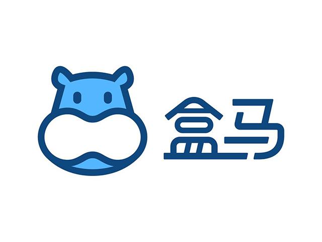 盒马生鲜新零售平台标志logo