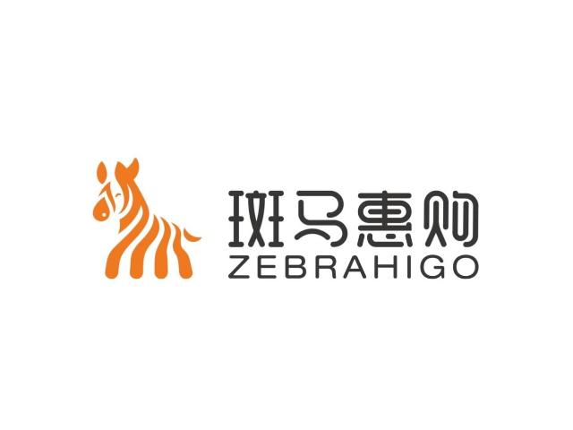斑马惠购社区便利店标志logo