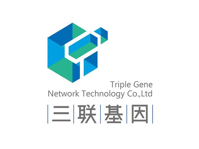 三联基因标志logo