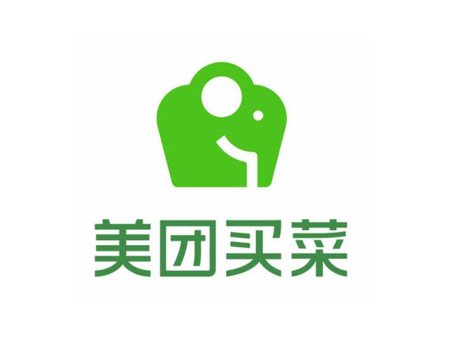 美团买菜app标志logo