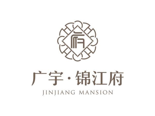 广宇锦江府楼盘标志logo