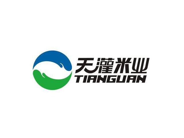 天灌米业标志logo