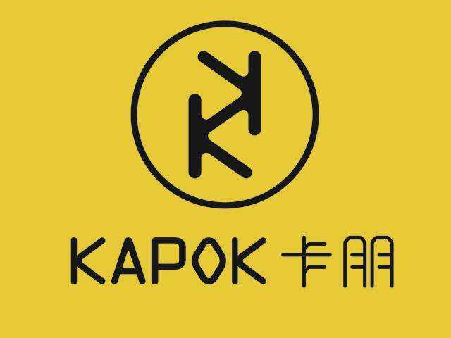 KAPOK卡朋西餐厅标志logo