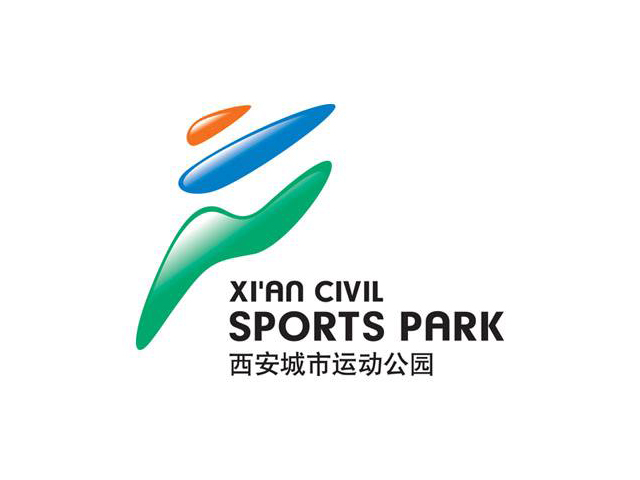 西安城市运动公园标志logo