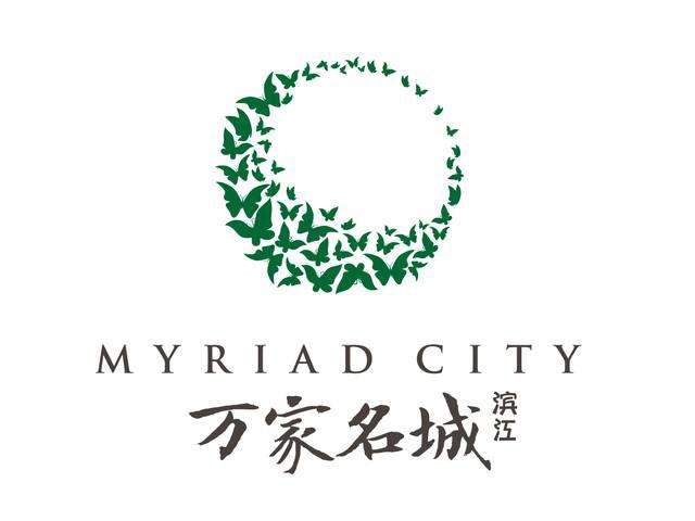 滨江万家名城楼盘标志logo