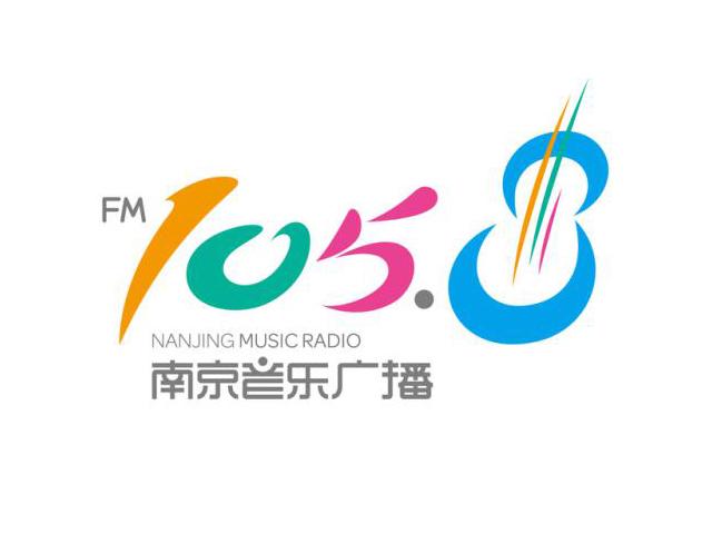 南京音乐广播FM105.8标志logo