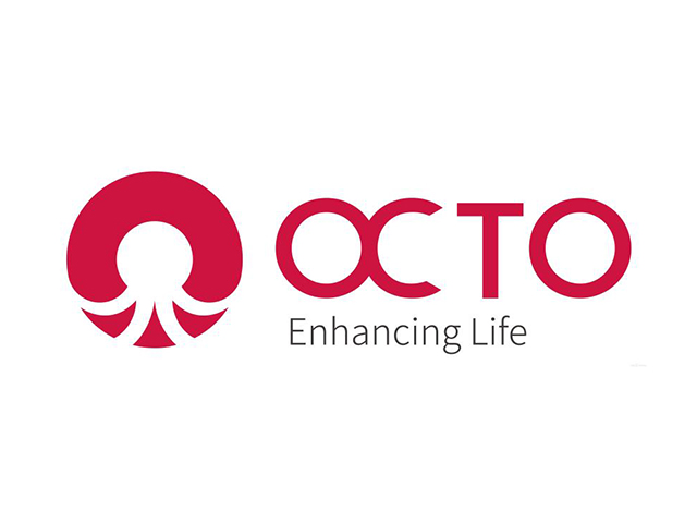 OCTO海洋生命标志logo