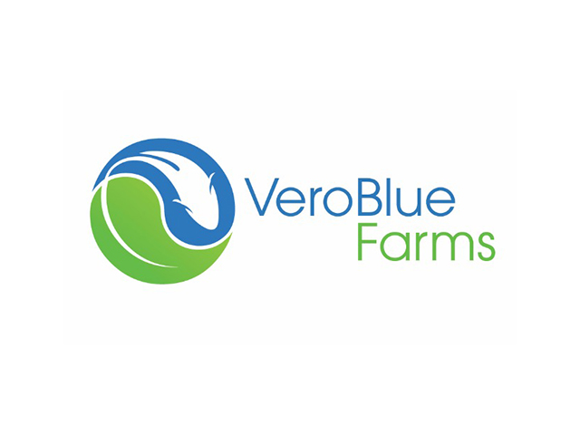 Veroblue farms农场标志logo