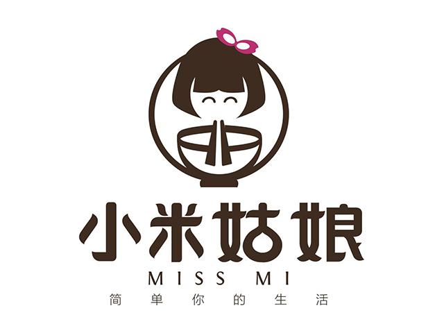 小米姑娘餐厅标志logo