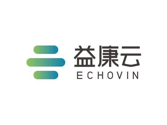 益康云echovin标志logo